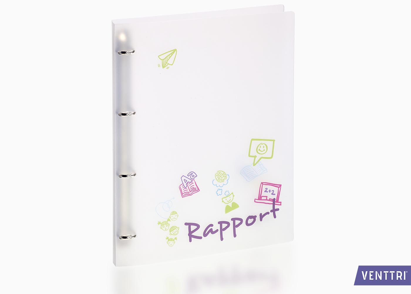 Rapportmap ringband PP 1